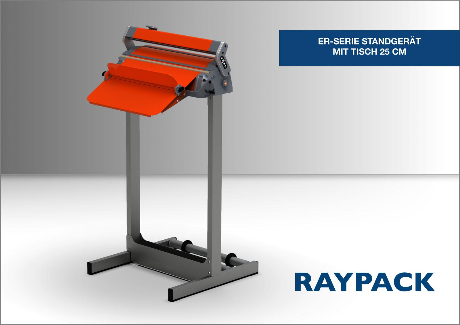 25 cm Tisch ER-Serie Standgerät