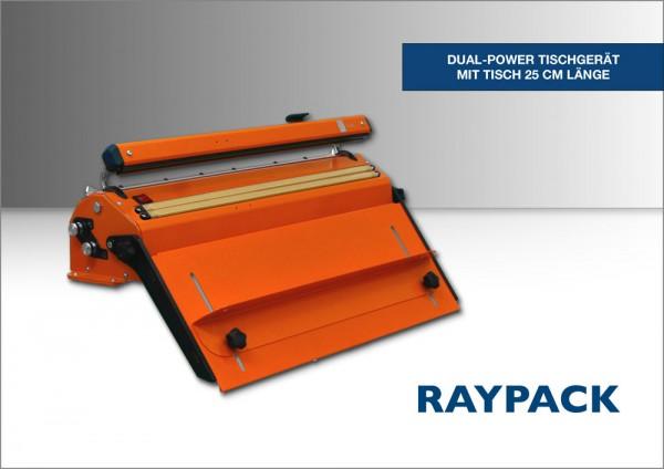 Folienschweißgerät Dual Power Standgerät orange 25 cm Tisch