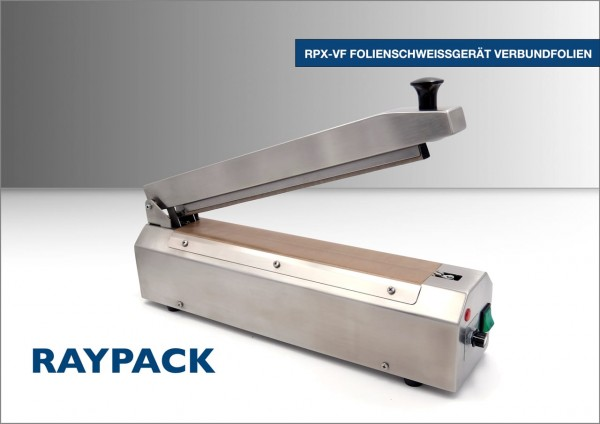 Folienschweißgerät RPX-VF aus Edelstahl für Verbundfolien